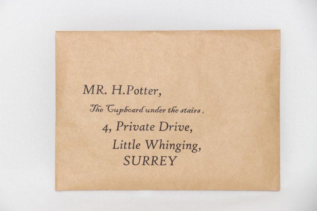 نامه هاگوارتز